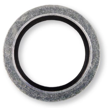 Steel/Rubber Gasket 16,7x24x1,5 mm